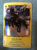 BELLA SARA TRADING CARD-SUNFLOWERS SERIES-SHINY FOIL-S41/55 SOOT & COLM