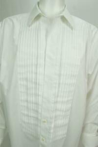 Brooks Brother Men's Long Sleeves Button Up Shirt White Size 16.5-33