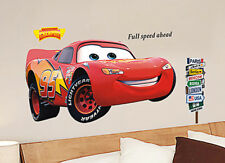 New Large Disney Cars Wall Vinyl Sticker Decal Decor Removable bedroom Art Mural