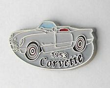 CHEVROLET CHEVY CORVETTE 1953 CONVERTIBLE LAPEL PIN BADGE 1 INCH