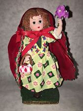 Madame Alexander Collectibles Little Red Ridding Hood Figurine with COA!