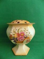 Rare Crown Ducal Blushware Rose Pot