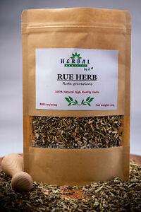 RUE DRIED HERB (Ruta graveolens) Ruta cieta 50/100/200g Great Quality !!!