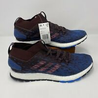 Adidas PureBoost RBL CM8311 Night Red Trace Maroon Running Shoes Men's Size 11