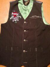 Ed hardy by christian audigier Waistcoat size S
