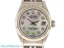 Rolex Donna Datejust Orologio Acciaio Inossidabile Diamante automatico ROLEX OYSTER LADY