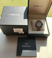 TAG HEUER FORMULA 1 WHITE DIAL WITH BOX, Manual And Card. MINT CONDITION!!