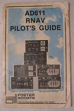Foster  Airdata AD611 RNAV Original Pilot's Guide