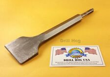 SDS Chisel Bit For Chipping Hammer Drill SDS Plus Lifetime Warranty DrillHog USA