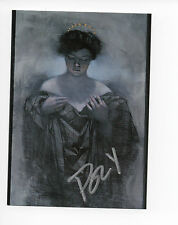 Cutting Edge Creator Trading Card (1993) #13 Signed Paul Lee (Poly) Vanguard NM