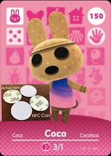 Coco NFC Tag/Coin Amiibo Card Animal Crossing New Horizons! Free Shipping!