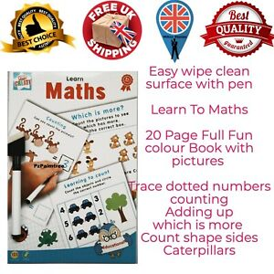 Best Learn To Maths Educational Wipe Clean Books Writing Times Tables Worksheet