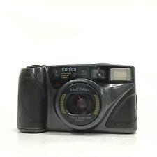 Konica Panorama Zoom schwarz 28-56mm Point & Shoot 35mm Filmkamera-gut