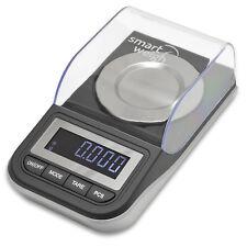 Smart Weigh 50g x 0.001g High Precision Jewelry Digital Milligram Scale w/ Case