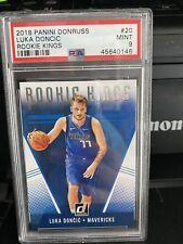 2018-19 Donruss Luka Doncic Rookie Kings Rookie RC #20 PSA 9 Mint 🔥📈🔥