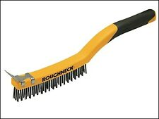 Roughneck Stainless Steel Wire Brush Soft Grip 355mm (14in) ROU52032