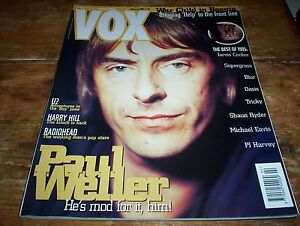 PAUL WELLER / Jam Cover of VOX U.K. magazine 1996 w/ RADIOHEAD, OASIS, BLUR, U2