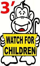 WATCH FOR CHILDREN DECAL STICKER ICE CREAM TRUCK KIDS