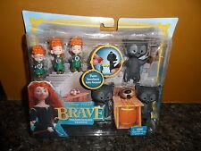 Disney Pixar Movie Brave Transforming Triplets Playset BNIB