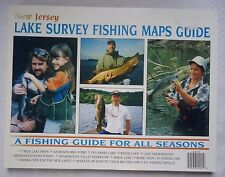 New Jersey Lake Survey Fishing Maps Guide 2000 For All Season (X24)