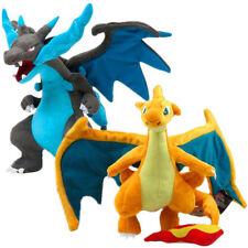 """Set of 2 MEGA Charizard 9"""" Stuffed Animal Christmas Plush Toys Halloween Dragon"""