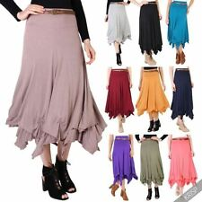Full Length Viscose Hippy, Boho Casual Skirts for Women
