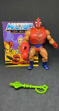 Vintage Clawful Masters Of The Universe He-man Figure MOTU Complete with comic