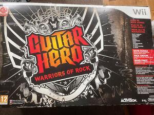 Guitar Heroes Warriors Of Rock Band Bundle No Disc Nintendo Wii