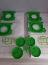 GENUINE SEBO ULTRA HOOVER BAGS X1 X4 X5 X7 AIRBELT C/370/470 ART, 509ER / 5093AM