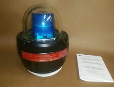 Federal Signal Explosion Proof LED Warning Light 27XL-024B Blue Lens