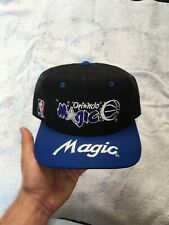 Vintage Sports Specialties Orlando Magic Wool Script Snapback Hat Cap NBA Script