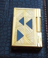 ST DUPONT AFRIKA AFRICA GATSBY GOLD LIGHTER BLACK LACQUER LIMITED EDITION ONYX