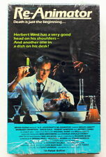 RE-ANIMATOR ~ VESTRON BETA ~ UNRATED 1980's Cult Horror GORE ~Slipcase ~ NOT VHS