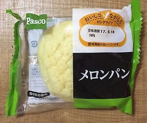 Japanese Bread, Melon Pan, Pasco, 1 pc, Long Life Series