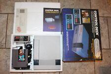Nintendo NES Control Deck System Console Complete Bundle w/ Mario NES #NesCD1