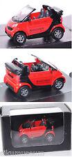 Siku Super 1042 Smart fortwo Cabrio KIRSCHNER / BEDACHUNGS-GMBH 1:50 Werbebox