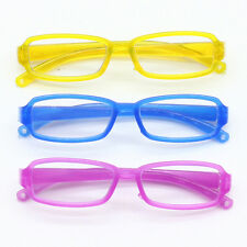 3 Paar Plastik umrandete Brillen Eyewear für 1/6 Blyth & 1/3 BJD Puppen Brillen
