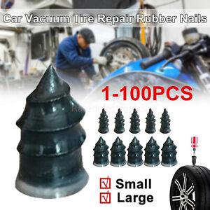 1-100 Pcs Car Vacuum Tire Repair Kit Set Tubeless Tyre Repair Rubber Nails Tool