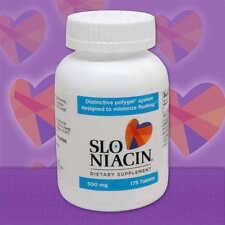 Slo-Niacin 500 mg 175 Tablets  Slo Niacin for cholesterol Contain Nicotinic Acid