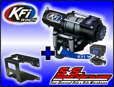2000 lb KFI Winch Combo Polaris Hawkeye 300 2006-07 Sportsman 300 400 2008-2010