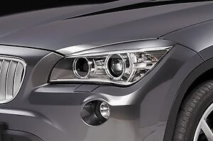 BMW X1 Series E84 Headlight Headlamp Eyelids (Eyebrows)