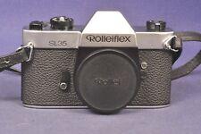 Rollei SL35 Chrom  / Spiegelreflex Body SLR Made in Germany