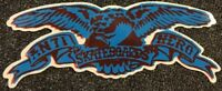Anti Hero Skateboards Sticker Blue Krooked Spitfire Thrasher FA Real Independent