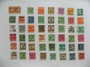 U S   Collection of all used PRECANCEL DEFINITIVES -7-23-A-We combine shipping