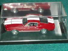"ERTL 1967 FORD SHELBY MUSTANG GT350 1/43 ""AMERICAN MUSCLE"" w DISPLAY CASE"