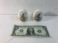 Lot of 2 Vintage Holly Hobbie Genuine Porcelain Egg - Made in Japan