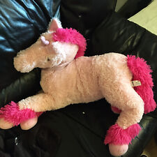 """Giant Pink Unicorn 30"""" Plush Soft Toy Asda - See Other Listings - Toy Clear Out"""