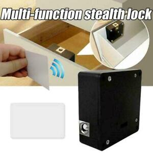 Invisible Hidden RFID Electronic Cabinet Drawer Lock Sensor Tag IC L0Z0 NEW S6U2