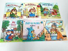 Golden Books Little Critter Mercer Mayer Lot of 6 No Duplicates