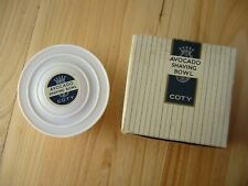 More details for *** vintage c1950's/60s 'coty' mens shaving soap in lidded dish in original box